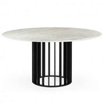 ORBITER DINING TABLE NOIR Ø1500 mm