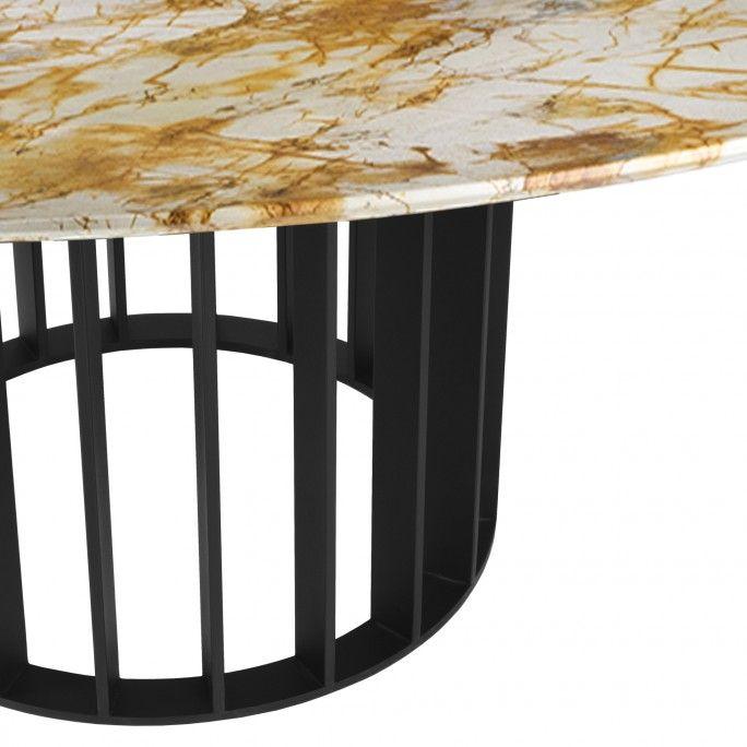 ORBITER DINING TABLE NOIR Ø1500 mm