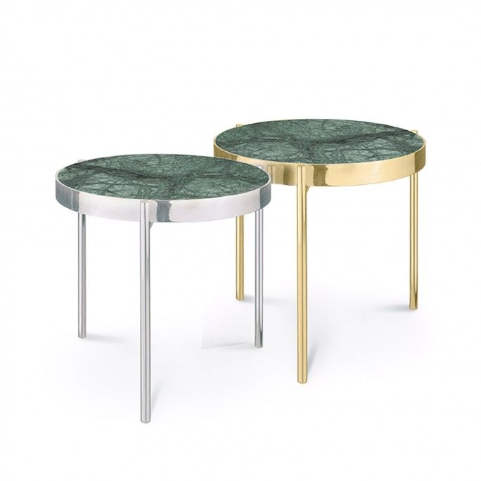 TABLE D'APPOINT KANDINSKY ROUND GOLD