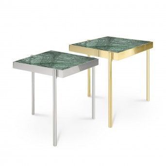 TABLE D?APPOINT KANDINSKY SQUARE GOLD