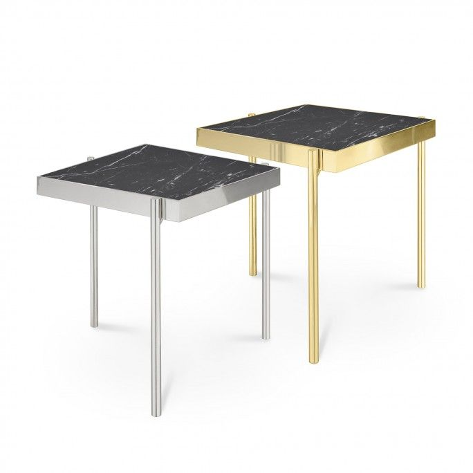TABLE D'APPOINT KANDINSKY SQUARE GOLD