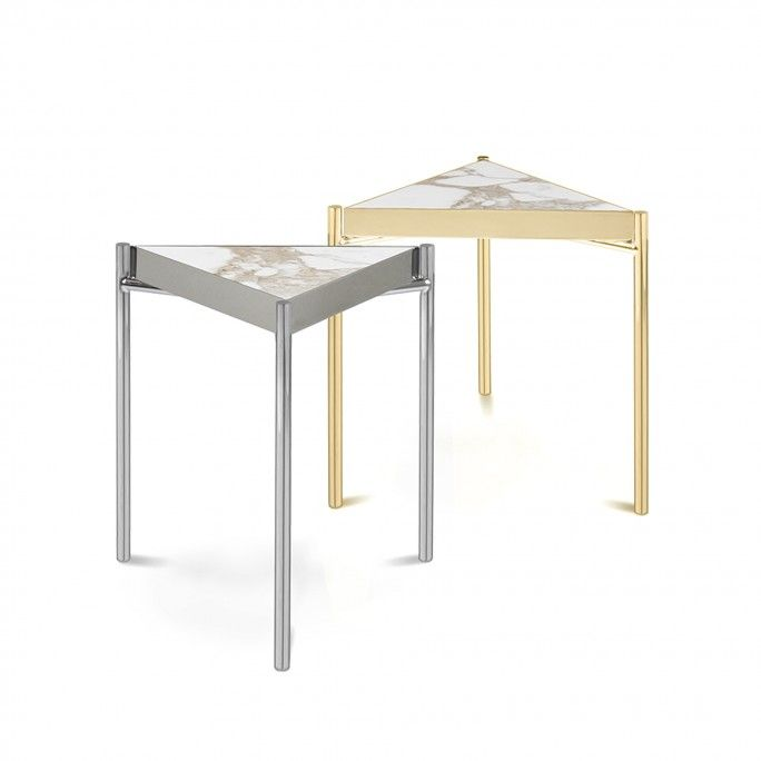 TABLE D'APPOINT KANDINSKY TRIANGULAR GOLD