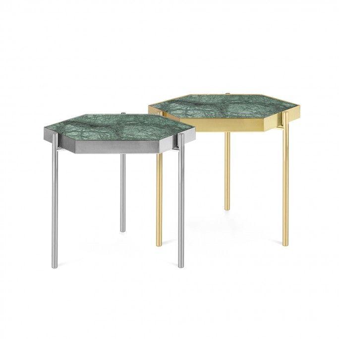 TABLE D'APPOINT KANDINSKY HEXAGONAL