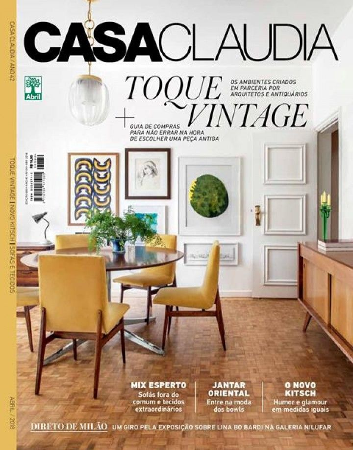 Casa Claudia - 2018 April Issue