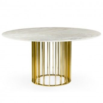 TABLE REPAS ORBITER GOLD Ø1500 mm