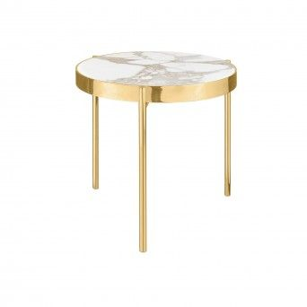 TABLE D?APPOINT KANDINSKY ROUND GOLD