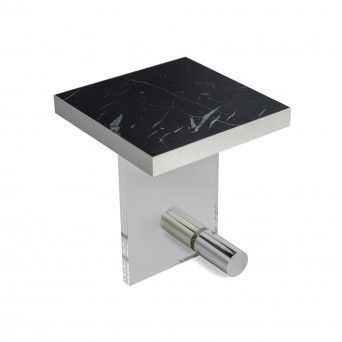 TABLE D?APPOINT KANDINSKY SQUARE ACRYLIC