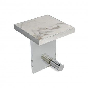 KANDINSKY SIDE TABLE SQUARE ACRYLIC