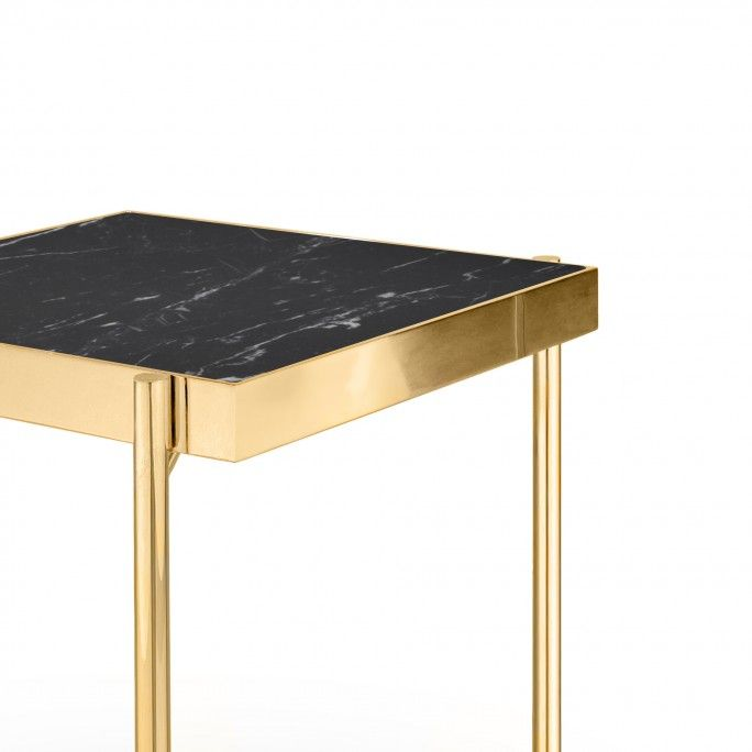KANDINSKY SIDE TABLE SQUARE GOLD