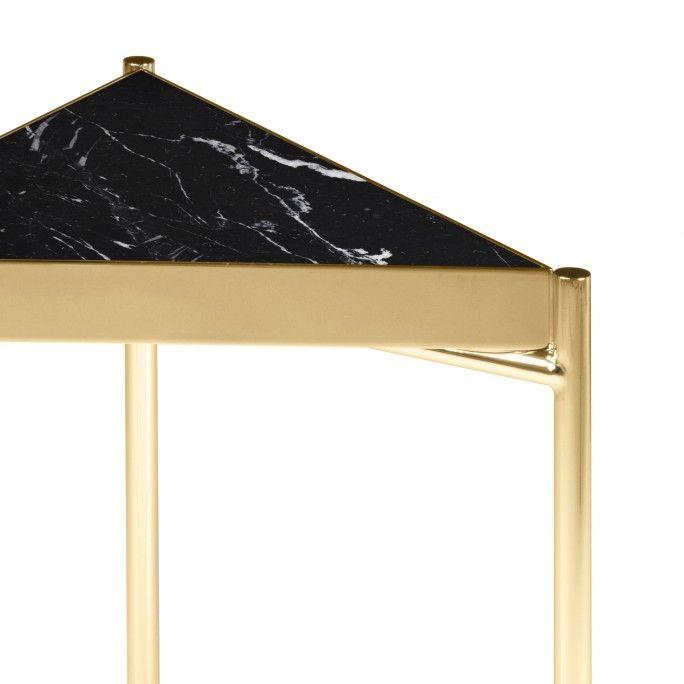 MESA APOIO KANDINSKY TRIANGULAR GOLD