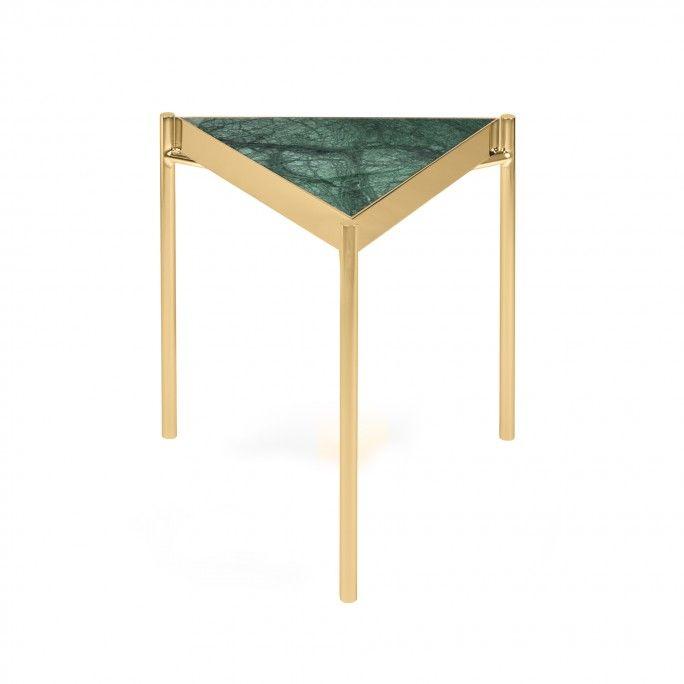KANDINSKY SIDE TABLE TRIANGULAR GOLD