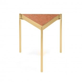 KANDINSKY SIDE TABLE TRIANGULAR GOLD