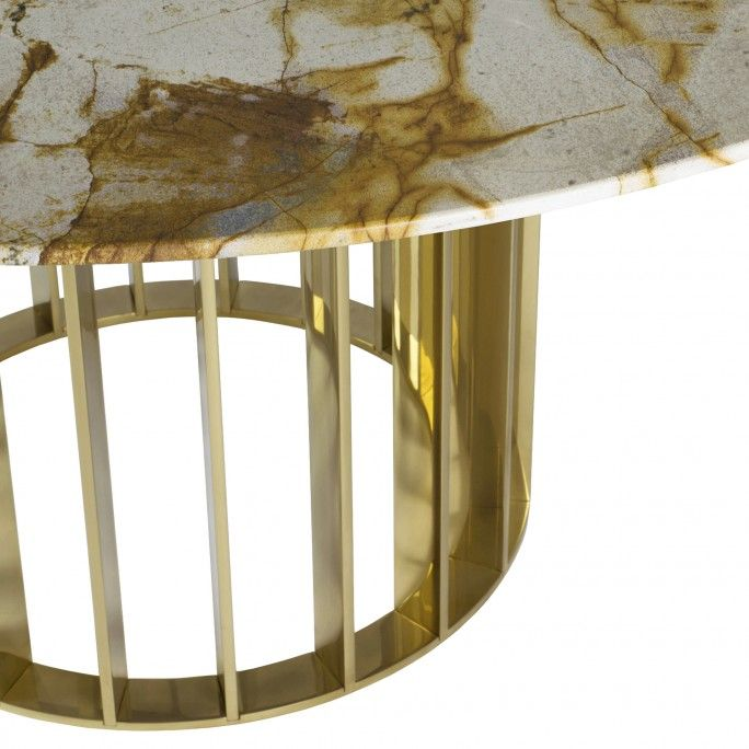 MESA DE JANTAR ORBITER GOLD Ø1500 mm