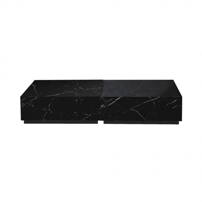 DUETO CLEAR - TABLE BASSE