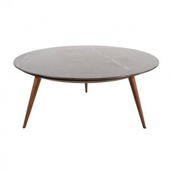 LAKE COFFEE TABLE GRAPHITE MARBLE