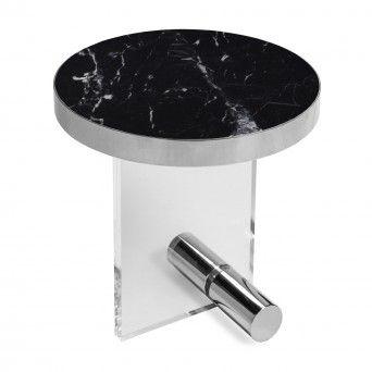KANDINSKY SIDE TABLE ROUND ACRYLIC